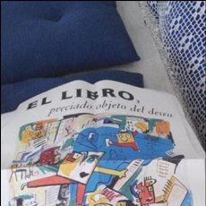 Coleccionismo de carteles: CARTEL POSTER 30 AÑOS CIRCULO DE LECTORES 1962-1992. MUY BIEN CONSERVADO. EL LIBRO VER FOTOGRAFÍAS.. Lote 50830599