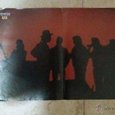 Coleccionismo de carteles: DOBLE POSTER, U2 Y GEORGE MICHAEL DE LA REVISTA POPCORN. TAMAÑO 40X29 CM. Lote 51131356