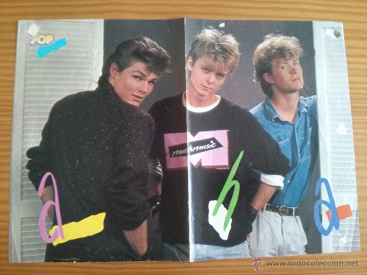Coleccionismo de carteles: POSTER SUPER POP TOM CRUISE Y A-HA AÑOS 80 - Foto 2 - 51202249