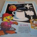 Coleccionismo de carteles: LAMINA: LOS RAYOS X DE PETETE: EL CAFE. Lote 114606772