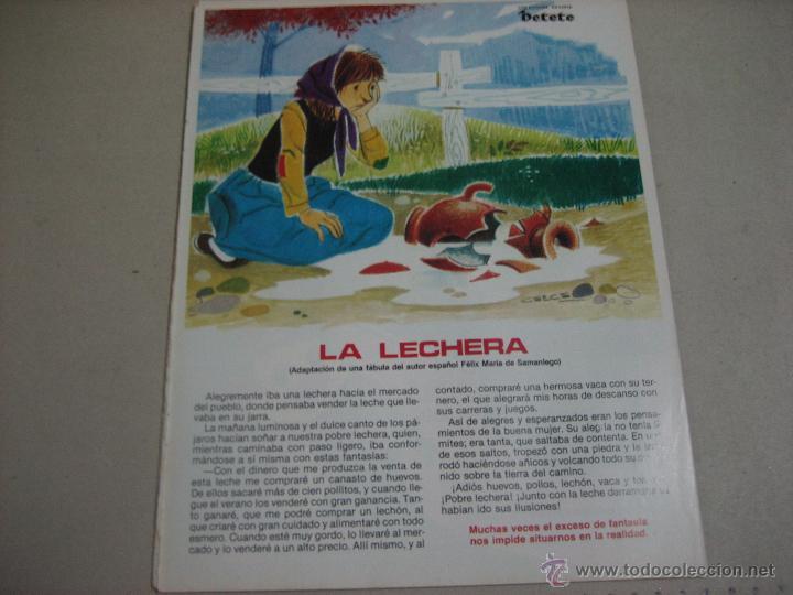 Petete Lamina Fabula De Felix Maria Samaniego Buy Old Posters At Small Format At Todocoleccion 51584163