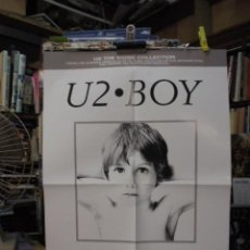 Colecionismo de cartazes: POSTER ESPECIAL U2 - BOY - THE KIOSK COLLECTION - ENVIO GRATIS - SIN USAR. Lote 53527996
