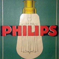Coleccionismo de carteles: PHILIPS. CARTEL LITOGRÁFICO PEQUEÑO FORMATO AÑOS 30. . Lote 52990128