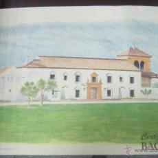 Coleccionismo de carteles: CARTEL PUBLICITARIO DEL CORTIJO BACARDI. PAPEL GRUESO. 44 X 30.5CM.. Lote 53720766