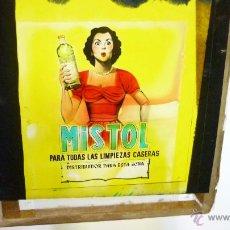 Coleccionismo de carteles: CLICHÉ PUBLICITARIO PARA CINES. ORIGINAL. AÑOS 1950. MISTOL DETERGENTE. 8,5 X 10 CTMS. . Lote 53767835