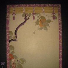 Coleccionismo de carteles: ANIS DEL MONO - CARTEL MENU - ILUSTRADO POR CARDUNETS -MIDE 27X39 CM- (V-4450). Lote 54470352