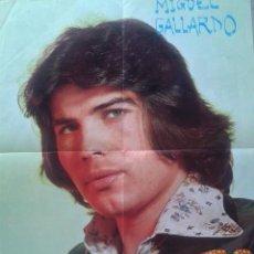 Coleccionismo de carteles: MIGUEL GALLARDO - POSTER. Lote 54652908