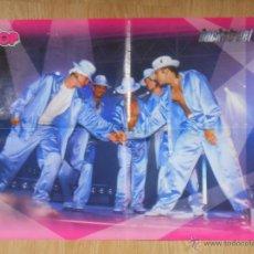 Coleccionismo de carteles: POSTER DE LOS BACKSTREET BOYS. TOUR 98. SUPER POP. TDKR9. Lote 54736214