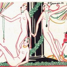Coleccionismo de carteles: PS6205 PROGRAMA DE 'LA GRANDE REVUE OLYMPIQUE'. CHARLES GESMAR. CASINO DE PARÍS. AÑOS 20. Lote 52998875
