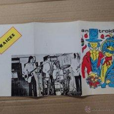 Coleccionismo de carteles: LUGO - CIRCULO DE LAS ARTES - ANTROIDO 80 . Lote 54849114