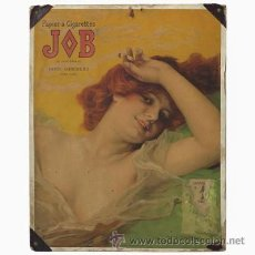 Coleccionismo de carteles: MUY RARO Y ORIGINAL !!! ART NOUVEAU CARTEL SOBRE CARTÓN DE DANIEL HERNANDEZ, 1889 (BRD). Lote 54866218