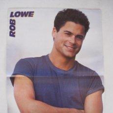 Coleccionismo de carteles: DOBLE POSTER - ROB LOWE / JOE ( NKOTB ) - SUPER POP.. Lote 55001106