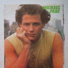 Coleccionismo de carteles: POSTER - MICHAEL PARE - SUPER POP.. Lote 55001223