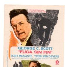 Coleccionismo de carteles: CARTEL DE CINE PEQUEÑO FUGA SIN FIN. Lote 55557732