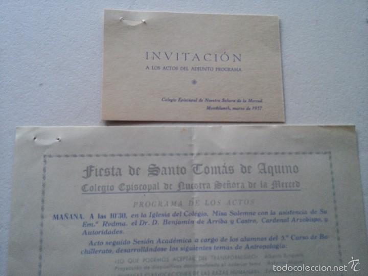 Montblanc 1957 Fiesta De Santo Tomas De Aquin Vendido En