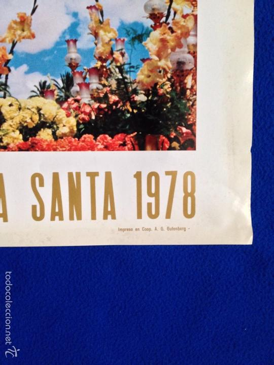 Coleccionismo de carteles: CARTEL SEMANA SANTA CREVILLENTE ••• 1978 ··· ALICANTE - Foto 2 - 55858529
