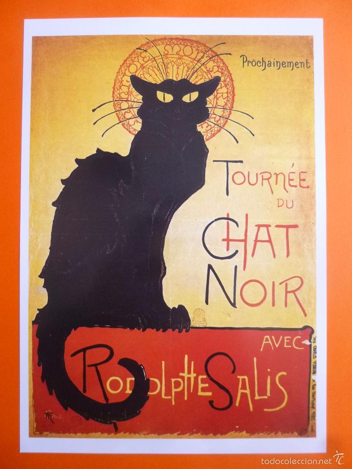 cartel de gato tournée du chat noir - Comprar Carteles antiguos ...