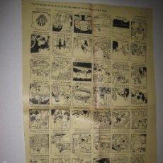 Coleccionismo de carteles: AUCA - CARTEL- FIRA DE LA CANDELERA -MIDE 32 X 49 CM-VER FOTOS-(V-5279). Lote 56302871