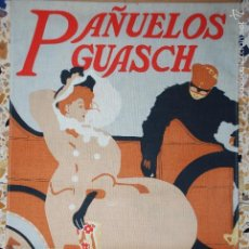Coleccionismo de carteles: CARTEL ROPA 33 X 47 CM. PAÑUELOSGUASCH AUTOMOVILISMO. Lote 56390134