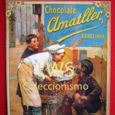 Coleccionismo de carteles: CHOCOLATES AMATLLER - BARCELONA - PUBLICIDAD IMÁGENES. Lote 56515837