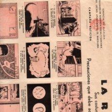 Coleccionismo de carteles: AUCA ALELUYA LA RATA. Lote 56645348