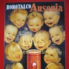 Coleccionismo de carteles: BOROTALCO AUSONIA - PUBLICIDAD IMÁGENES - FARMACIA TP. Lote 56695055