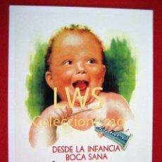 Coleccionismo de carteles: DESDE LA INFANCIA BOCA SANA CON DENTAMIN - PUBLICIDAD IMÁGENES - FARMACIA - DENTISTAS TP. Lote 56695171