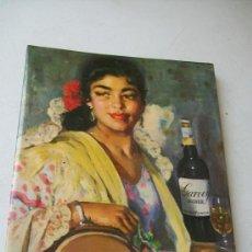 Coleccionismo de carteles: PEQUEÑO CARTEL DE REPISA ES DE CHAPA : GARVEY SHERRY.- MIDE 23.5 X 17 CM.-. Lote 57506535