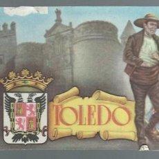 Coleccionismo de carteles: CARTEL PUBLICITARIO ANTIGUO CON EL ESCUDO DE LA PROVINCIA DE - TOLEDO. Lote 57718888