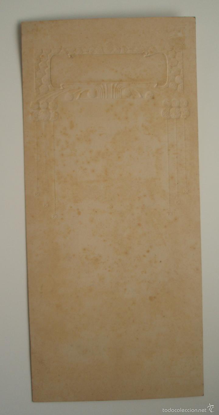 Coleccionismo de carteles: CARTEL. ART DÉCO. PRINCIPIOS DEL SIGLO XX. CARTÓN TROQUELADO. SIN ROTULAR. - Foto 2 - 57736380