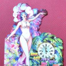 Coleccionismo de carteles: COMPAÑIA DE TEATRO LA CUBANA - CARTEL FOLLETO TRIPTICO - FELIZ NAVIDAD 2009 - CON DEDICATORIA. Lote 57821226
