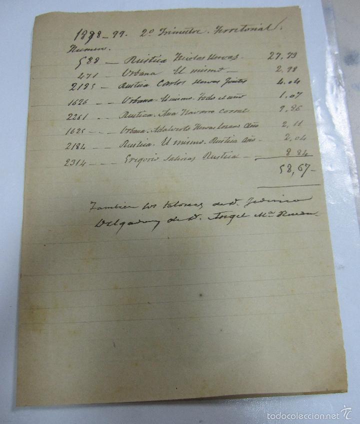 Coleccionismo de carteles: 1898. HUERCAL- OVERA, ALMERIA. 22 X 32CM. CARTEL PUBLICITARIO DE EL RIZADO. OPTICO ESPECIALISTA. - Foto 2 - 58359390