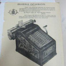 Coleccionismo de carteles: CARTEL. MAQUINA SUMADORA FEDERAL. SANTO DOMINGO, REPUBLICA DOMINICANA. A4. Lote 58391184