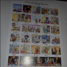 Coleccionismo de carteles: AUCA DELS REIS D'IGUALADA 1999 - 68'5 CM. X 33 CM.. Lote 58635602
