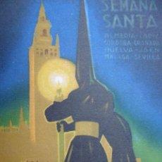 Coleccionismo de carteles: SEMANA SANTA SEVILLA CORDOBA MALAGA GRANADA.... 16X10. Lote 58731798