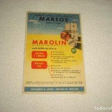 Coleccionismo de carteles: PUBLICIDAD FARMACIA . MAROLIN, LABORATORIO DR. ANDREU. Lote 61717168