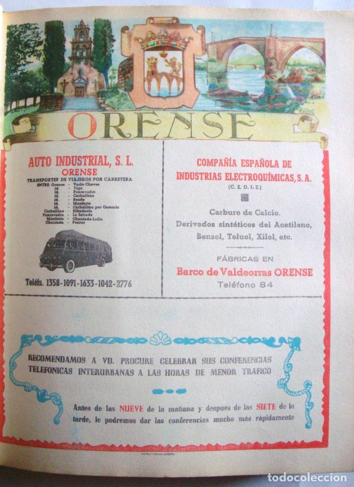 LÁMINA COLECCIÓN PUBLICIDAD AUTO INDUSTRIAS LICORES VISO PROVINCIA DE ORENSE 1954-1955 (Coleccionismo - Carteles Pequeño Formato)