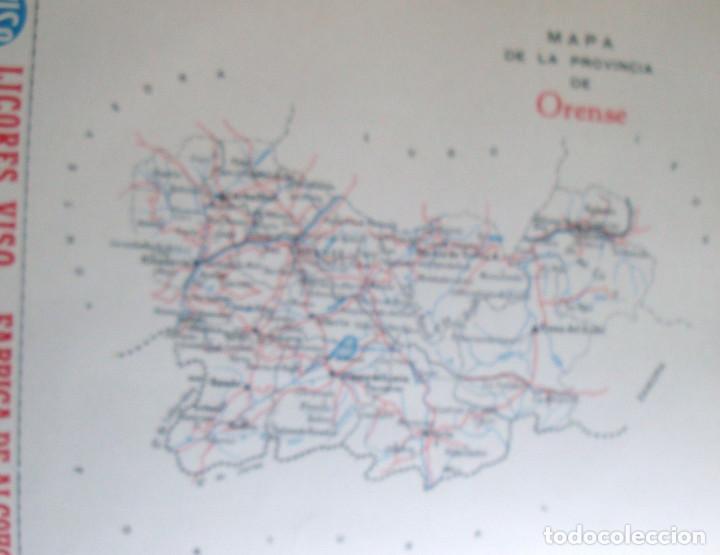 Coleccionismo de carteles: Lámina colección publicidad Auto Industrias licores Viso provincia de Orense 1954-1955 - Foto 2 - 62287408