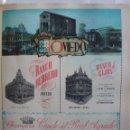 Coleccionismo de carteles: LÁMINA COLECCIÓN PUBLICIDAD BANCO HERRERO DE GIJÓN CAJA AHORROS PROVINCIA DE OVIEDO 1954-1955. Lote 62287872