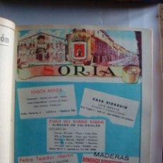 Coleccionismo de carteles: LÁMINA COLECCIÓN PUBLICIDAD MOZAS BENITO PENSIÓN AVENIDA RIDRUEJO PROVINCIA DE SORIA 1954-1955. Lote 62291128