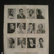 Coleccionismo de carteles: PEQUEÑO CARTEL UNION DE FOTOGRABADORES - MIDE 21 X 28 CM - VER FOTOS - (V-6774) . Lote 63332664