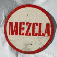 Coleccionismo de carteles: CARTEL SOBRE TABLERO - MEZCLA -.. Lote 65795402