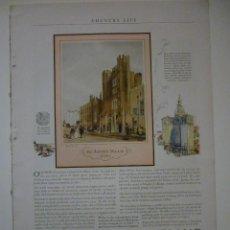 Coleccionismo de carteles: ATLAS PORTLAND CECENT. ARTÍCULO ORIGINAL. COUNTRY LIFE. JULY 1927. Lote 66234202