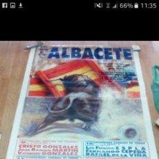 Coleccionismo de carteles: CARTEL TOROS ALBACETE 1992. Lote 67474277