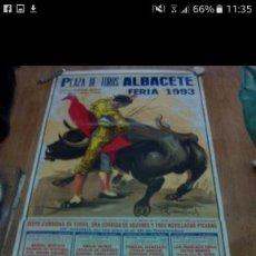 Coleccionismo de carteles: CARTEL TOROS ALBACETE 1993 MURAL. Lote 67474509