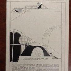 Coleccionismo de carteles: OAKLAND .AUTOMOVILES ANTIGUOS COCHES HOJA PUBLICIDAD AÑO 1929.ORIGINAL. Lote 68491105