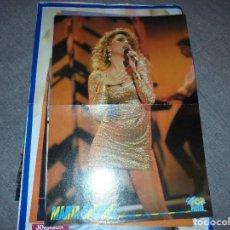 Coleccionismo de carteles: MARTA SANCHEZ. POSTER DE LA REVISTA SUPER POP. REVERSO : TOM CRUISE. 42 X 29 CM. Lote 72253535