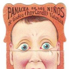Coleccionismo de carteles: PANACEA PARA LA DENTICION DE LOS NIÑOS DE GADEA - CORELL. Lote 73006267