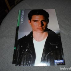 Coleccionismo de carteles: POSTER DE LA REVISTA MOVIE HITS : TOM CRUISE. 42 X 29 CM. Lote 73952667