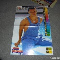 Collectionnisme d'affiches: POSTER DE LA REVISTA SUPER POP : JESUS VAZQUEZ. REVERSO : JASON PRIESTLEY. 38 X 26 CM. Lote 75415611